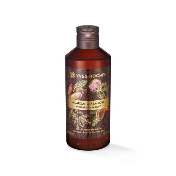 Brusegelé - Argan, rose, 400 ml