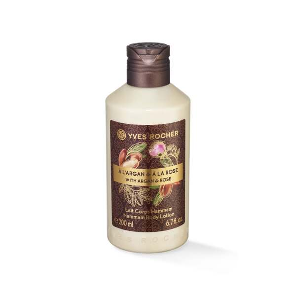 Kropslotion - Mild, argan, rose, 200 ml