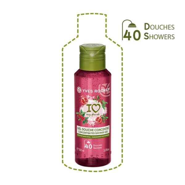 Koncentreret brusegelé - Granatæble Rosenpeber 100 ml